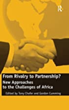 From rivalry to partnership? : new…