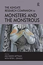 The Ashgate Research Companion to Monsters…