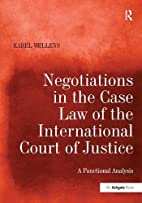 Negotiations in the Case Law of the…