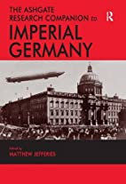 The Ashgate research companion to imperial…