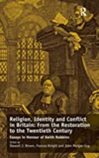 Religion, identity and conflict in Britain :…