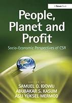People, Planet and Profit: Socio-Economic…
