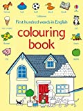 Heather Amery: First 100 Words Colouring Book