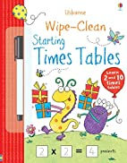 Wipe-Clean Starting Times Tables by Jessica…