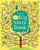 Very Big Maze Book (Big Maze Books) by…
