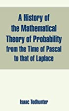 A History Of The Mathematical Theory Of…