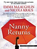 McLaughlin, Emma: Nanny Returns (Wheeler Large Print Book Series)