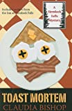 Bishop, Claudia: Toast Mortem (Wheeler Large Print Cozy Mystery)