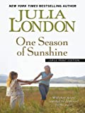 London, Julia: One Season of Sunshine (Thorndike Press Large Print Core Series)