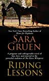 Gruen, Sara: Riding Lessons (Thorndike Press Large Print Famous Authors Series)
