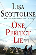 One Perfect Lie (Thorndike Press Large Print…