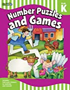 Number Puzzles and Games: Grade Pre-K-K…