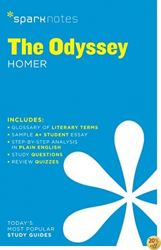TThe Odyssey SparkNotes Literature Guide (SparkNotes Literature Guide Series)