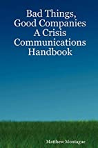 Bad Things, Good Companies: A Crisis…