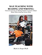 MAX Teaching With Reading & Writing:…