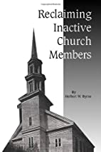 Reclaiming Inactive Church Members by…