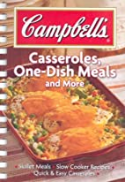 Campbell's Casseroles, One-Dish Meals and…