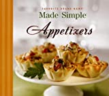 Evans, Chad: Made Simple Appetizers (Favorite Brand Name Cookbook)