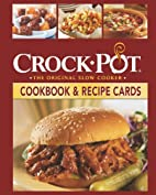 Crock-Pot Cookbook and Recipes Cards…