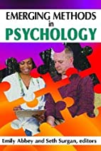 Emerging Methods in Psychology (History and…