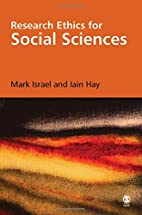Research Ethics for Social Scientists by…