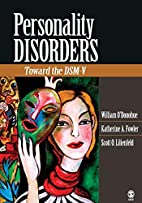 Personality Disorders: Toward the DSM-V by…