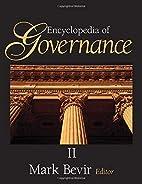Encyclopedia of Governance - 2 volume set by…