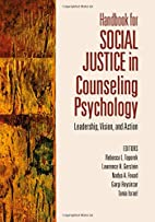 Handbook for Social Justice in Counseling…