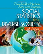 Social Statistics for a Diverse Society…