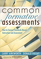 Common Formative Assessments: How to Connect…
