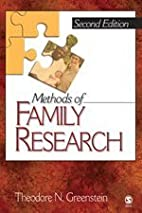 Methods of Family Research by Theodore N.…