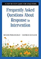 Frequently Asked Questions About Response to…