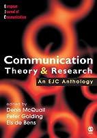 Communication theory & research : an ECJ…