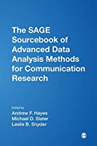 The SAGE Sourcebook of Advanced Data…