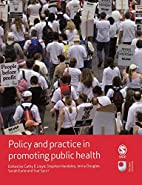 Policy and practice in promoting public…