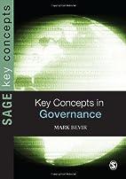Key Concepts in Governance (SAGE Key…