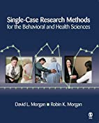 Single-Case Research Methods for the…