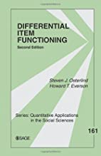Differential Item Functioning by Steven J.…