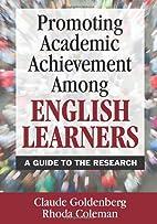 Promoting Academic Achievement Among English…