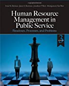 Human Resource Management in Public Service:…