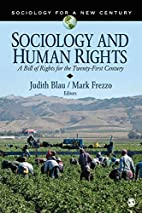 Sociology and Human Rights: A Bill of Rights…