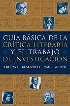 Guia básica de la critica literaria y…