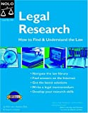 Stephen Elias: Legal Research: How to Find & Understand the Law