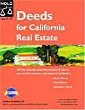 Randolph, Mary: Deeds for California Real Estate