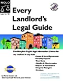 Stewart, Marcia: Every Landlord's Legal Guide