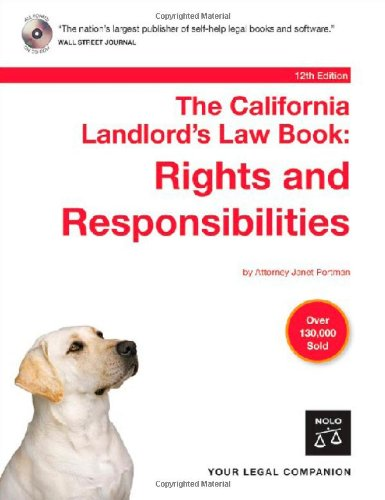 the-california-landlords-law-book-rights-responsibilities-book-with-cd-rom-12th-edition