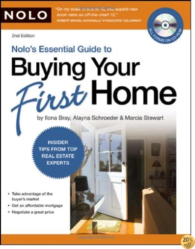 Nolo's Essential Guide to Buying Your First Home (book with CD-Rom & Audio)