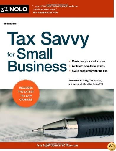 TTax Savvy for Small Business, 16th Edition