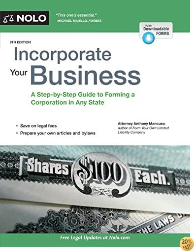 TIncorporate Your Business: A Step-by-Step Guide to Forming a Corporation in Any State