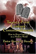 Twenty-First Century Commandments: How To…
